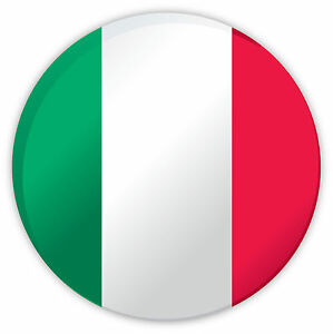 Italia Italy 3D campione palla pallone bandiera etichetta ...