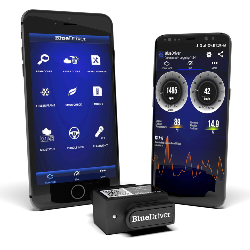 Bluedriver OBD2 Scanner & App For iPhone, Android, & iPad