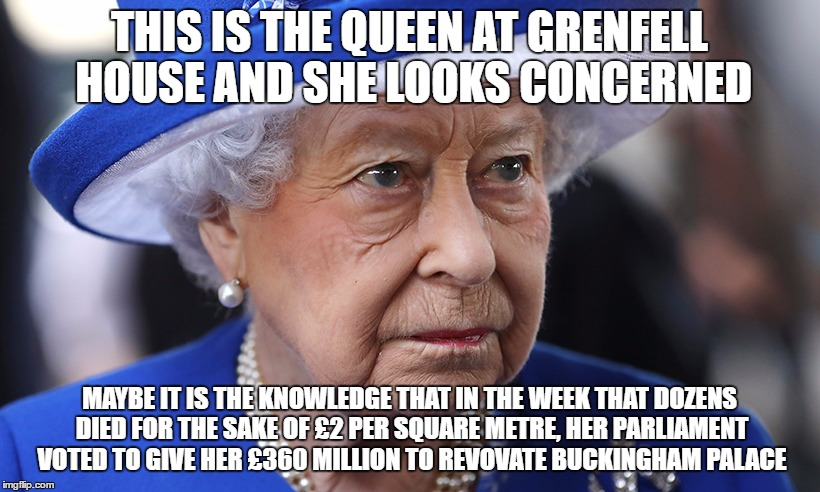 Image tagged in queen,queen elizabeth,tories,theresa may ...