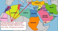 North African Countries: Algeria, Chad, Egypt, Ethopia, Guinea, Jordan, Libya, Mali, Morocco ...