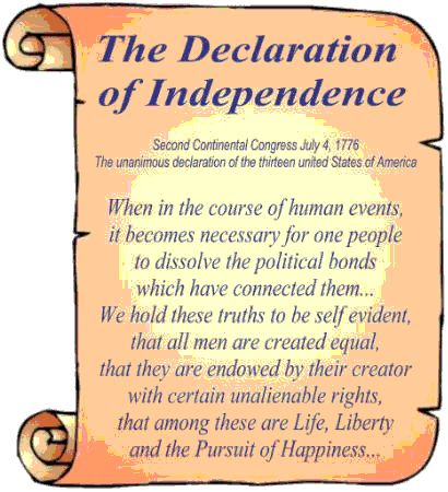 images of the declaration of independence   declaration of ...