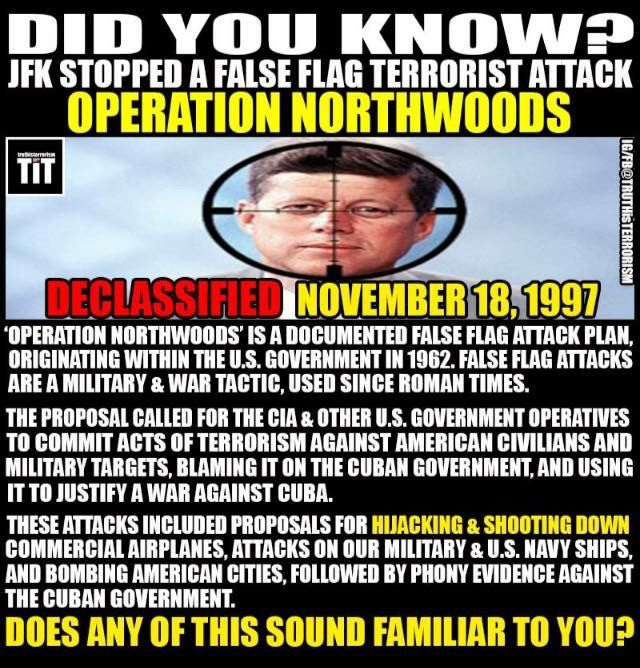 25+ bästa Operation northwoods idéerna på Pinterest ...