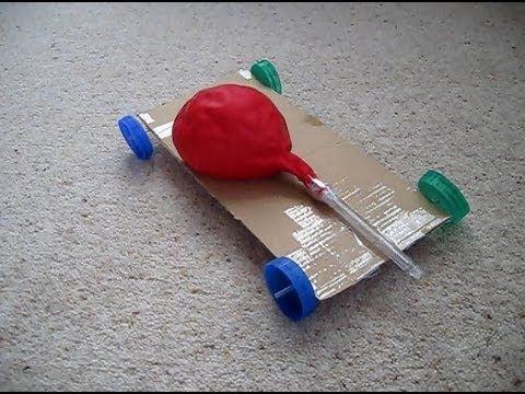 22 best Balloon Car Project images on Pinterest | Balloon ...