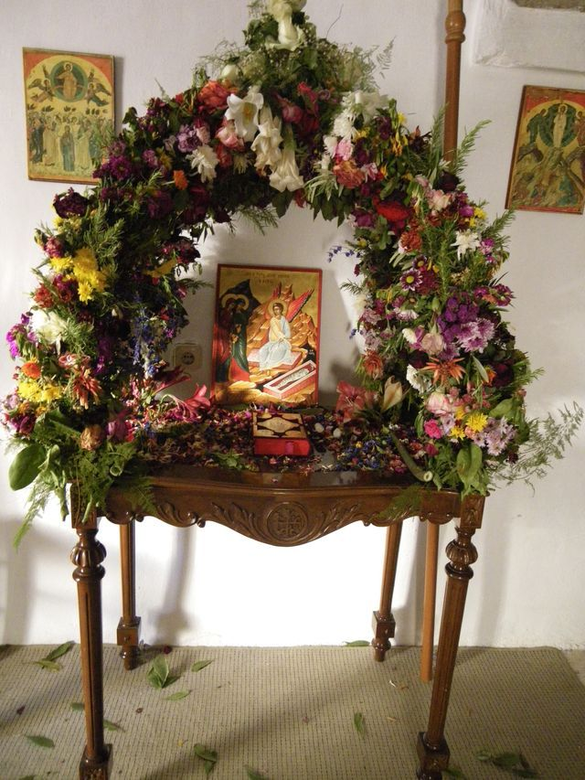 40 best Greek Easter images on Pinterest | Orthodox christianity, Orthodox easter and Church flowers