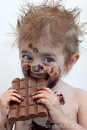 """I've found that things like chocolate tastes much better ..."