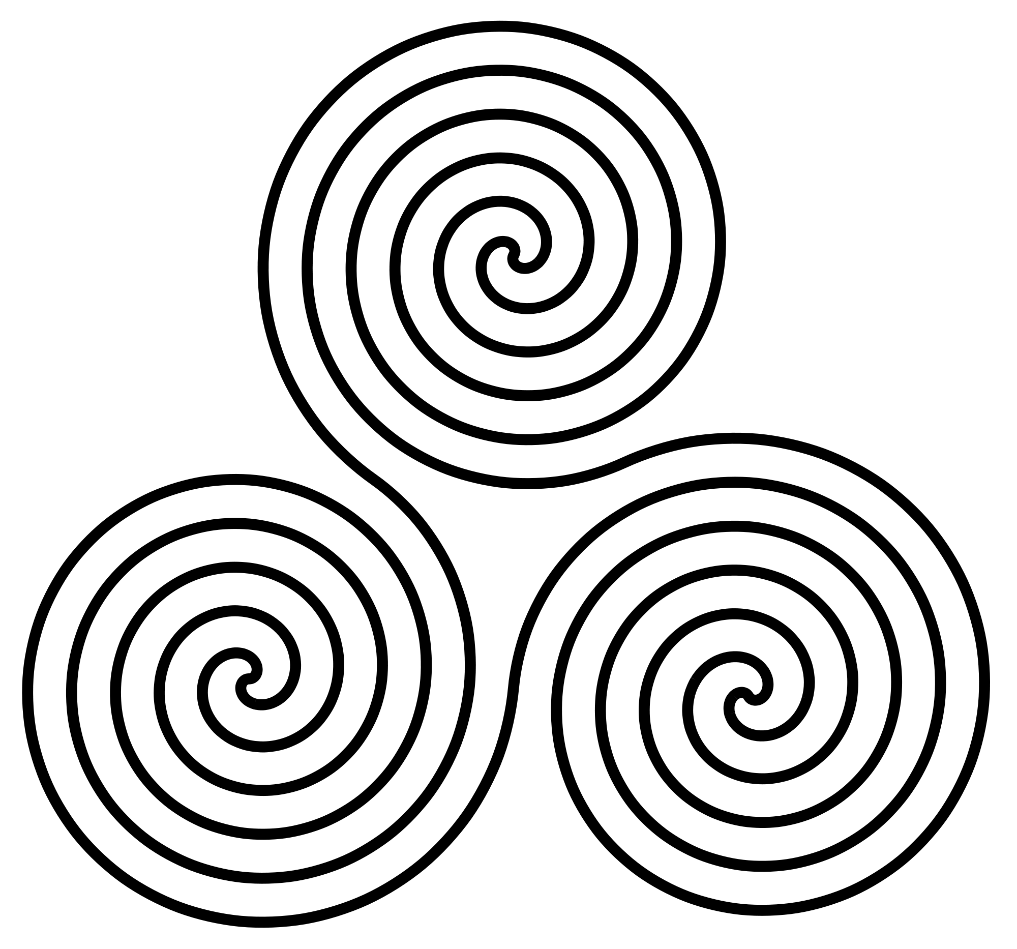 File:Triple-Spiral-Symbol.svg - Wikimedia Commons | PI ...