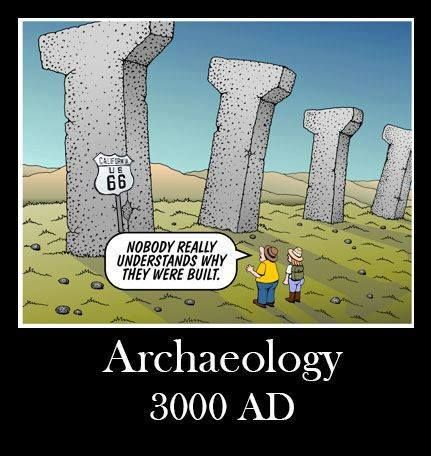 Here's the archaeology cartoon of the week! Happy ...
