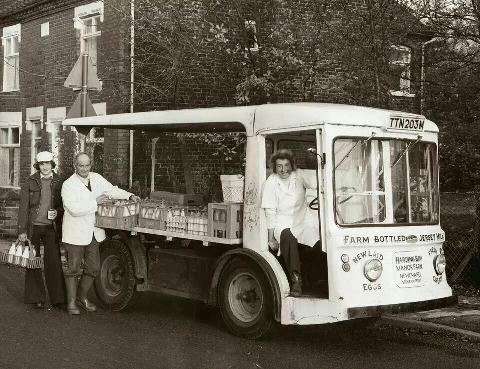 Morrison Electricar Milk Float mid 70's   MILK FLOATS   My ...