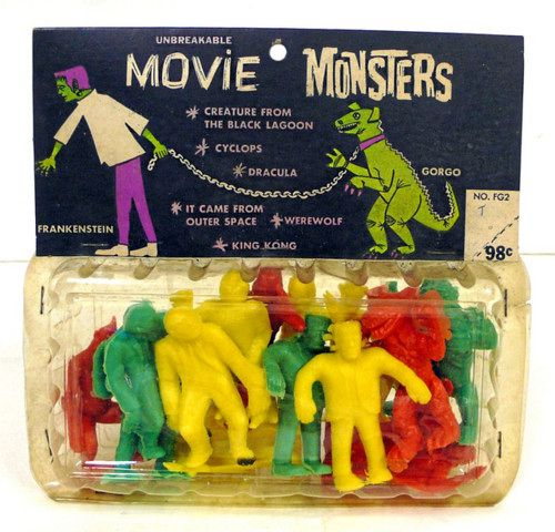Palmer monsters were released in 1964. These 3-inch ...