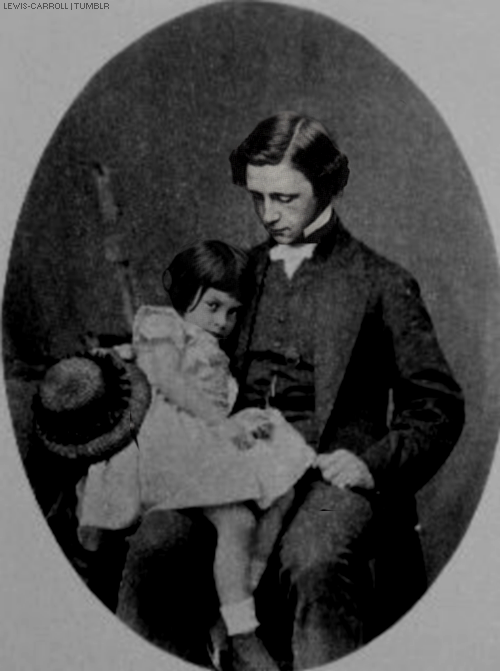 Lewis Carroll and Alice Liddell. | Alice | Alice liddell, Alice in Wonderland, Alice