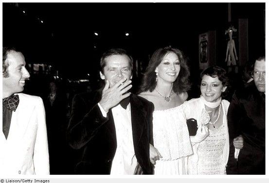 Jack Nicholson and Anjelica Huston | Jack Nicholson