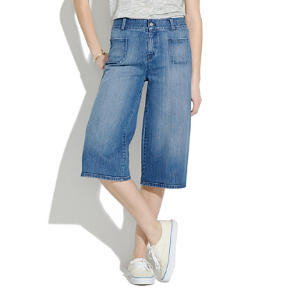 Culotte Jeans : culotte | Madewell