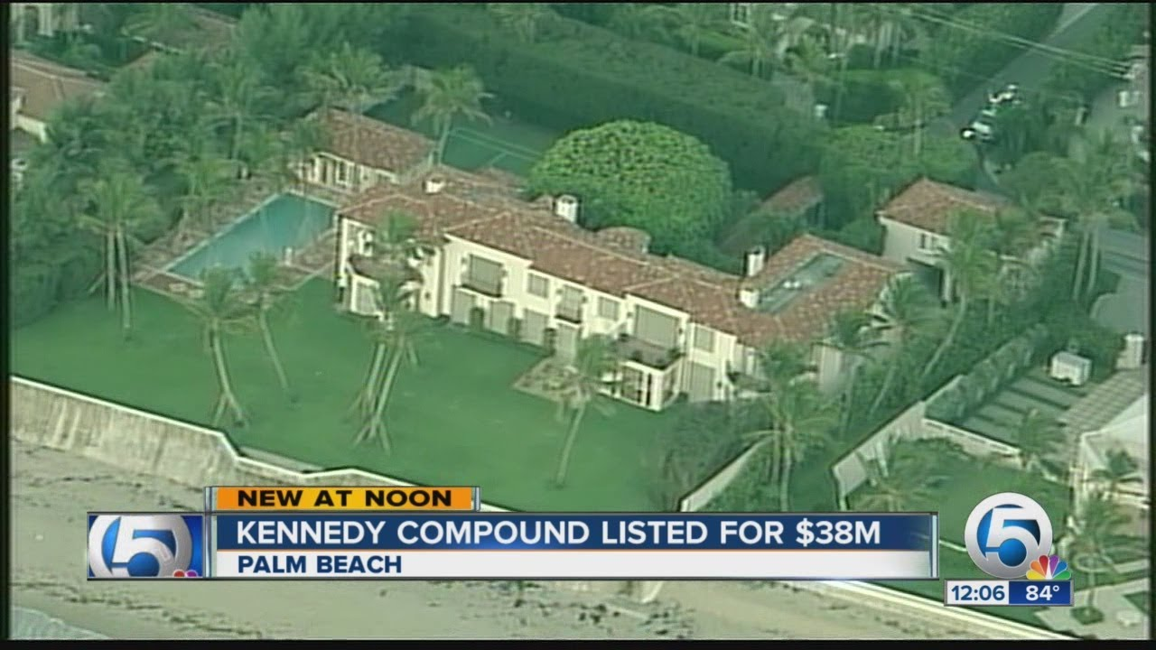 Kennedy compound listed for $38M - YouTube