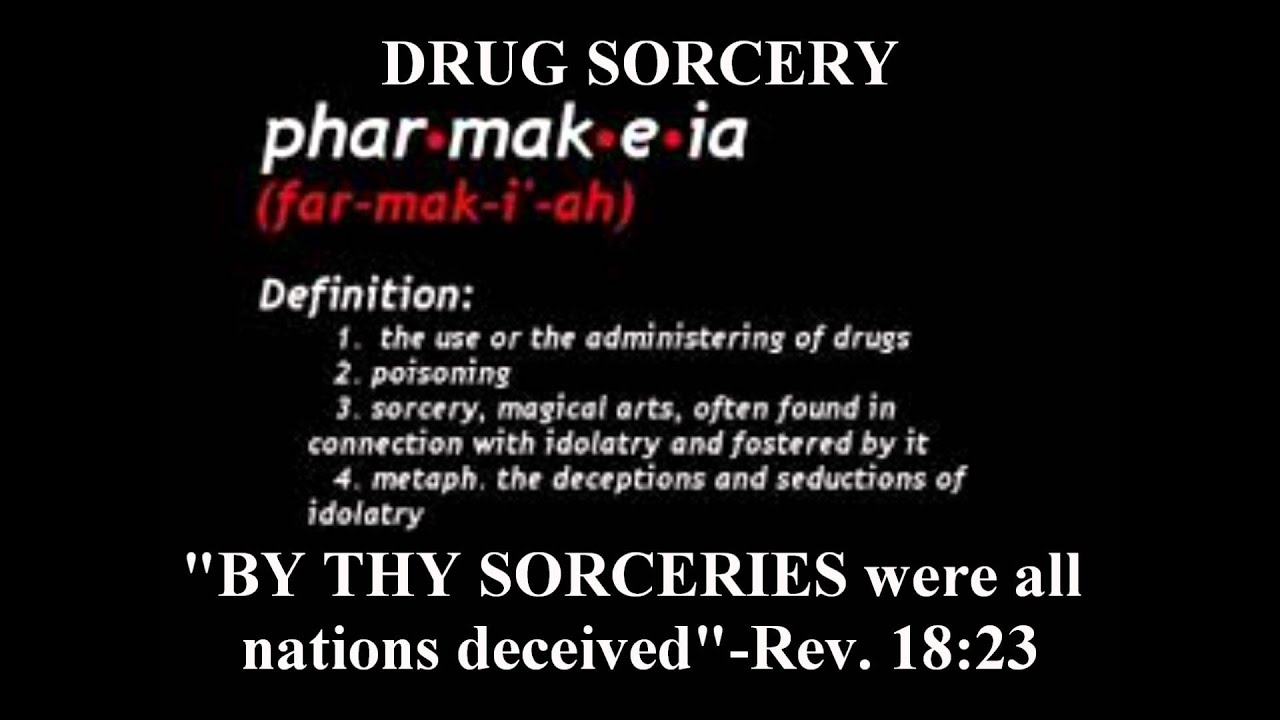 Sword of the spirit audio broadcast # 14 drug sorcery ...