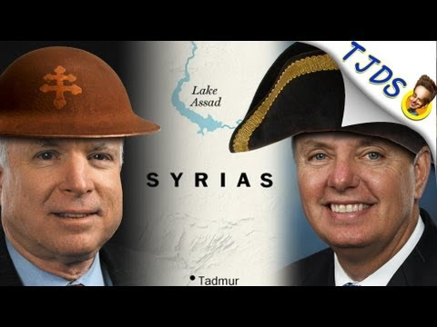 John McCain & Lindsey Graham Are Syrias About War (TJDS ...