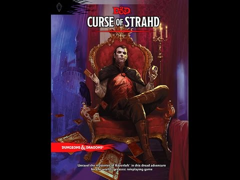 Curse of Strahd Announced (Spoilers) - YouTube