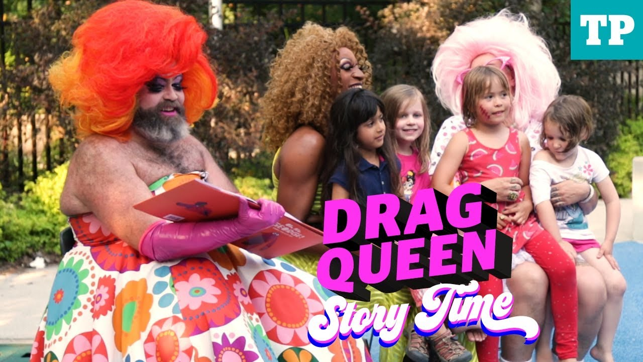 Drag Queen Story Time - YouTube