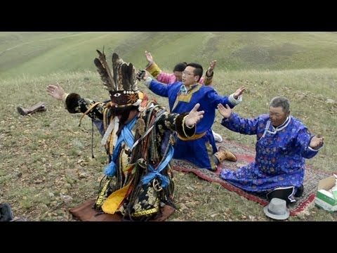A Mongolian shaman in atheist China - YouTube