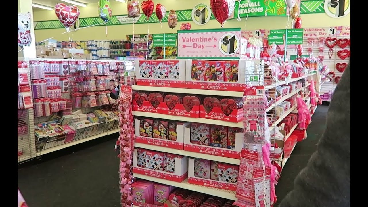 Dollar Tree Valentine's Day & St. Patrick's Day Candy ...