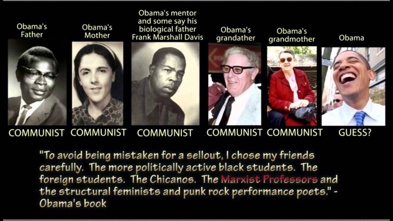 "Obama: ""I chose my friends ... The Marxist Professors ..."