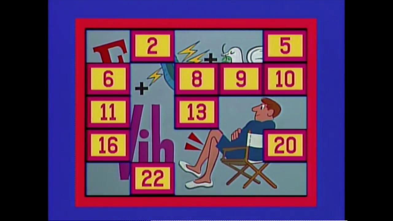 Classic Concentration, 1991 episode, Terri vs Antoinette ...