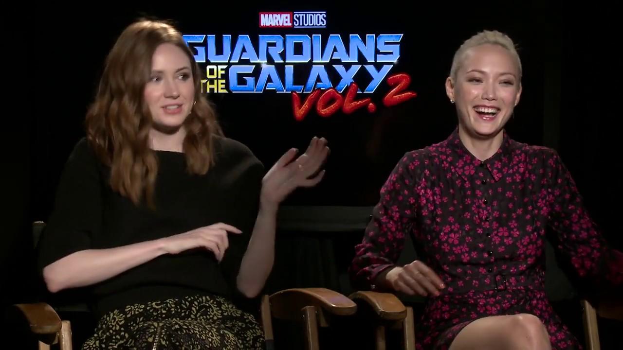 Guardians of the Galaxy Vol. 2 Interview - Karen Gillan ...