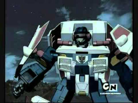 Transformers Cybertron Red Alert - YouTube
