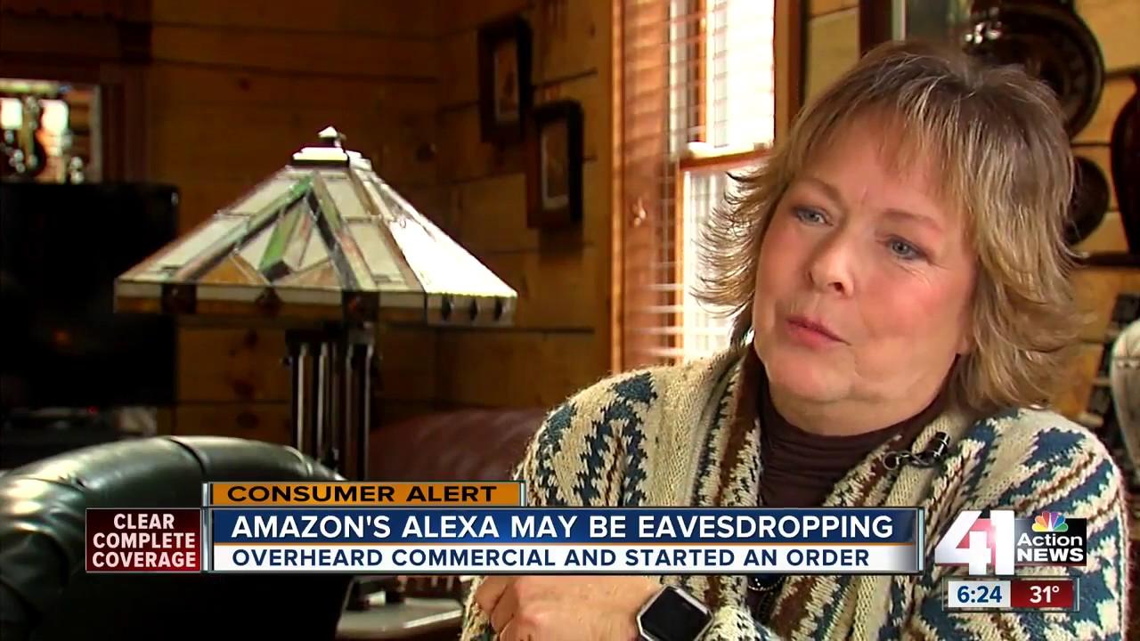Amazon's Alexa may be eavesdropping - YouTube