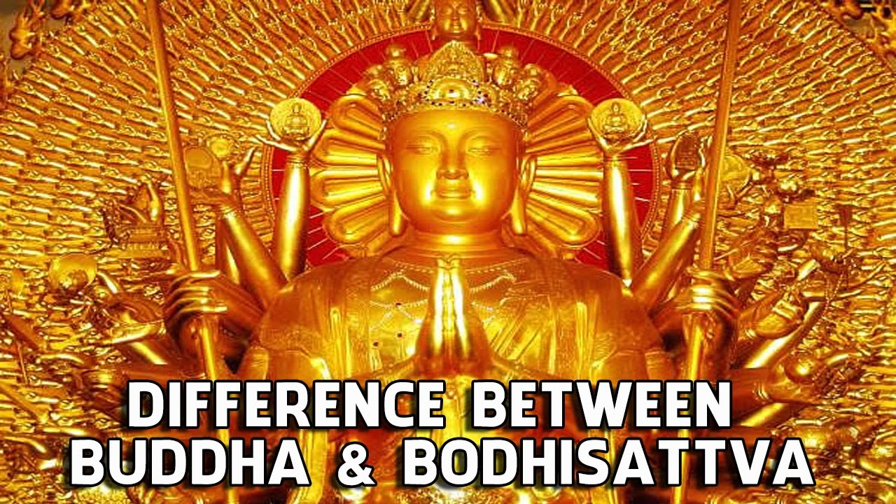 Difference Between Buddha and Bodhisattva - YouTube