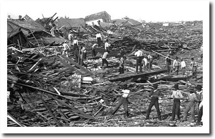 This Date In 1900 — Galveston Destroyed By A Hurricane ...