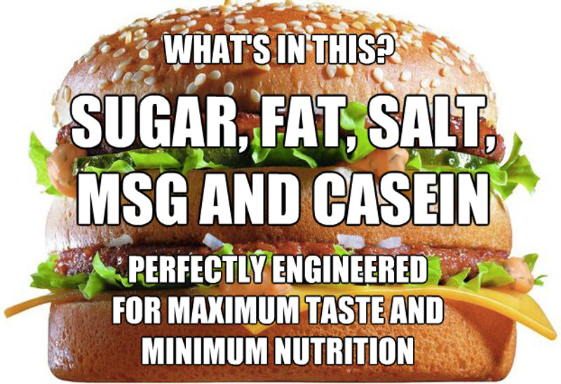 Addictive Ingredients in Fast Food and their Effect on ...