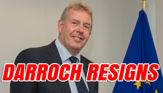 The Daily Brexit: UK Ambassador to US Kim Darroch Resigns
