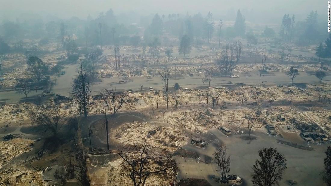 California fires: Death toll rises to 17 - CNN