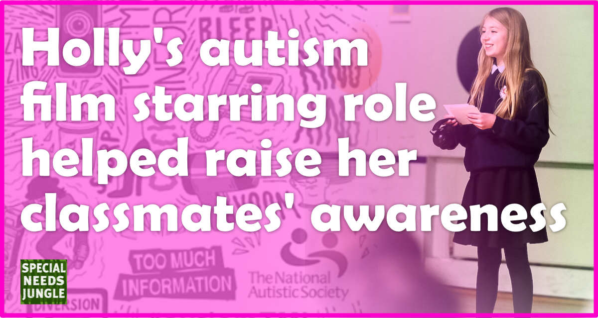 Holly's autism film starring role helped raise her ...