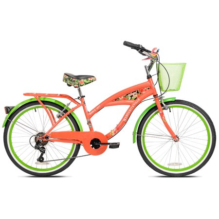 "24"" Girls Margaritaville Island Life Multi Speed Bicycle ..."