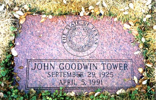 John Goodwin Tower (1925 - 1991) - Find A Grave Photos