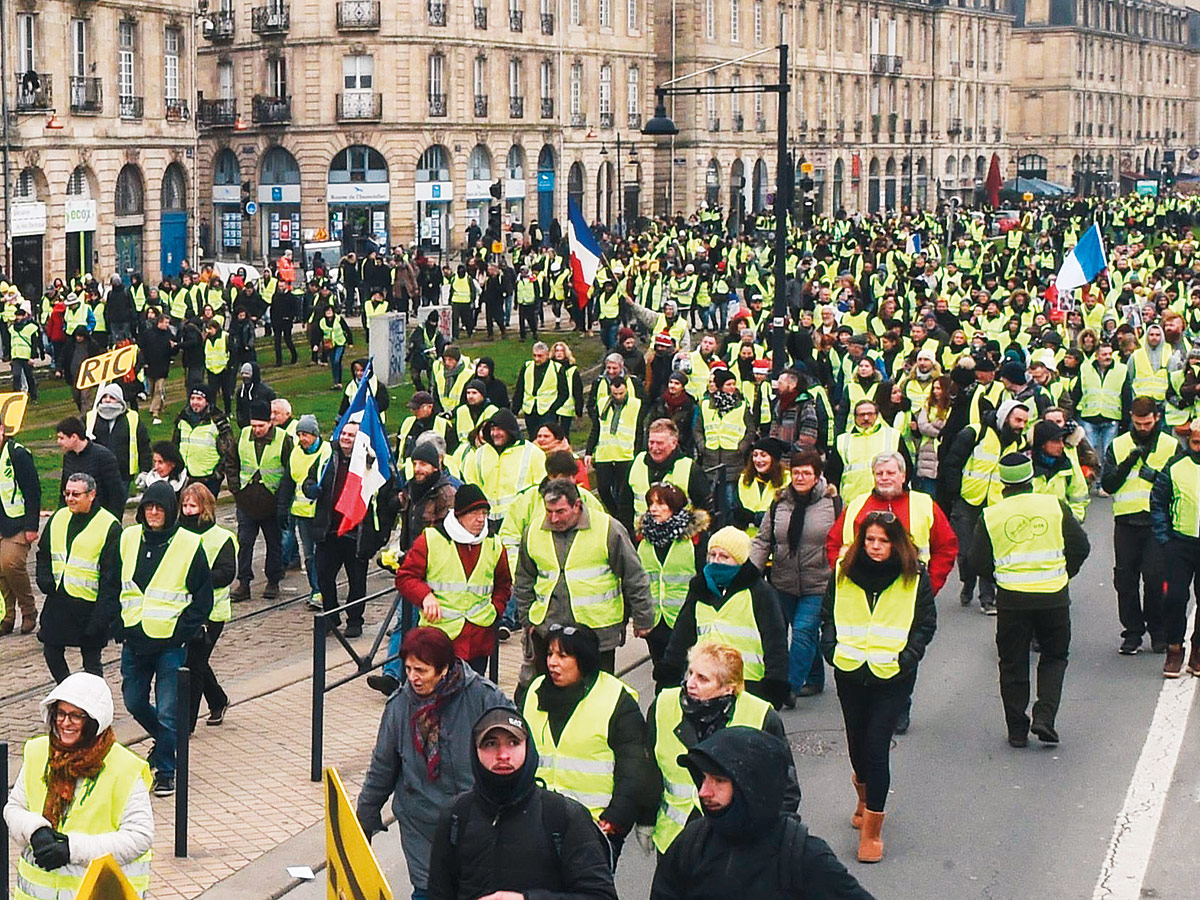 Leader of France's 'yellow vests' arrested
