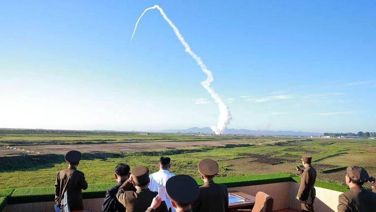 """""""Noord-Korea lanceert opnieuw ballistische raket""""   Noord ..."""
