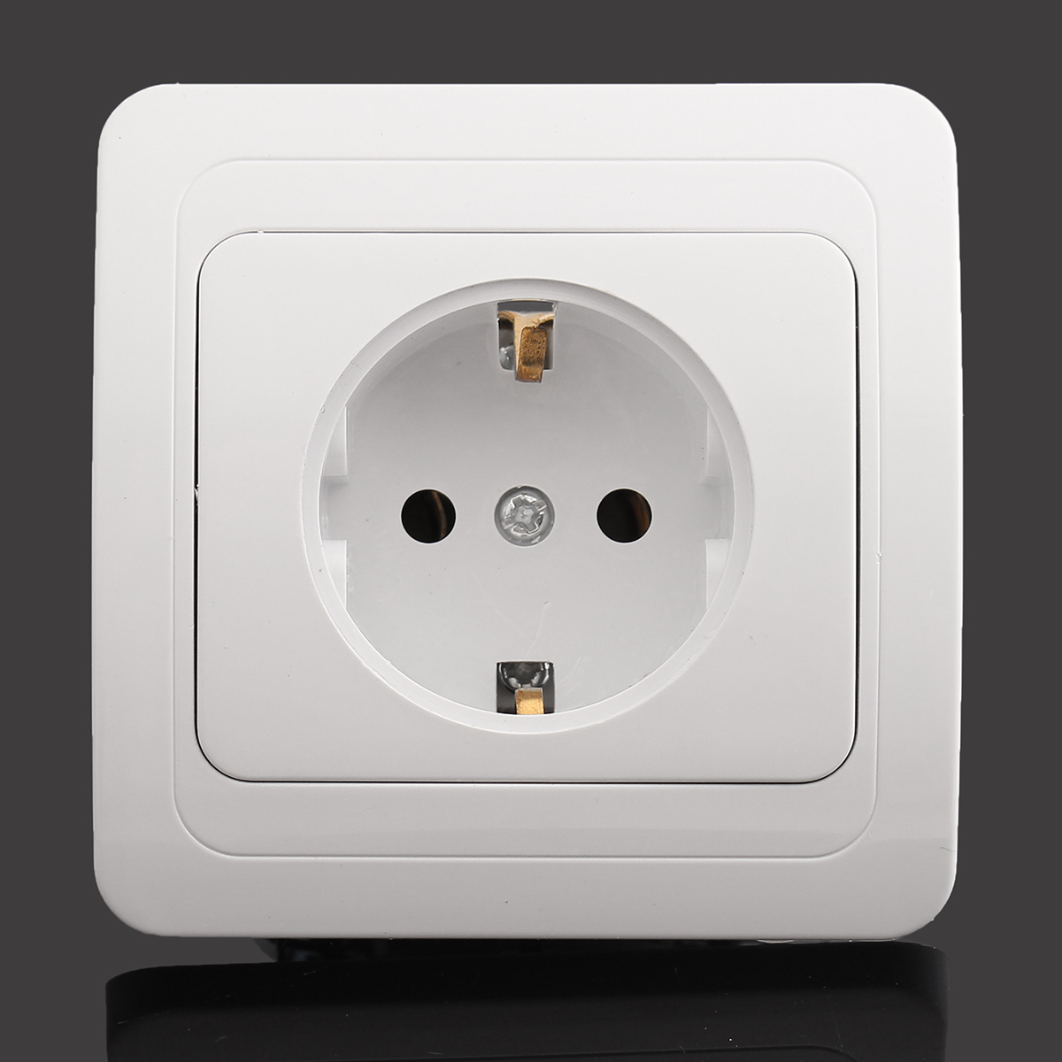 16A EU Wall Socket European German Standard Power Outlet ...