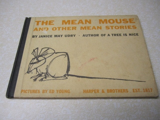 Vintage BookThe Mean Mouse and Other Mean Stories Janice May