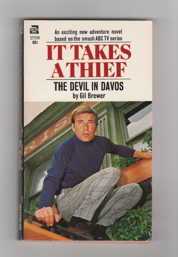 Robert Wagner It Takes A Thief 1970s tv by AnemoneReadsVintage