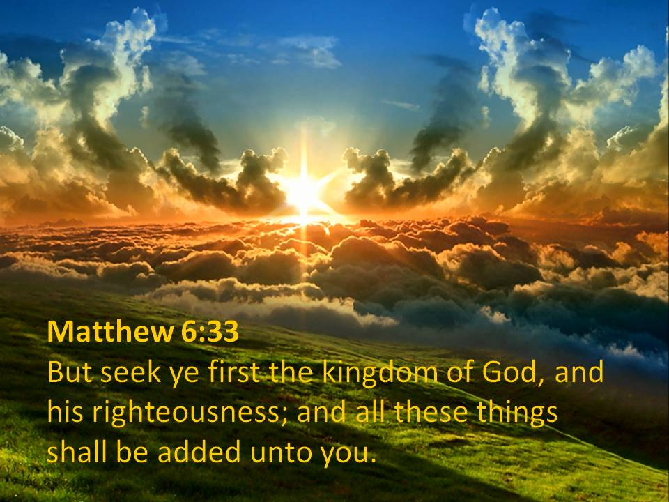 Seek First The Kingdom Of God | www.pixshark.com - Images ...