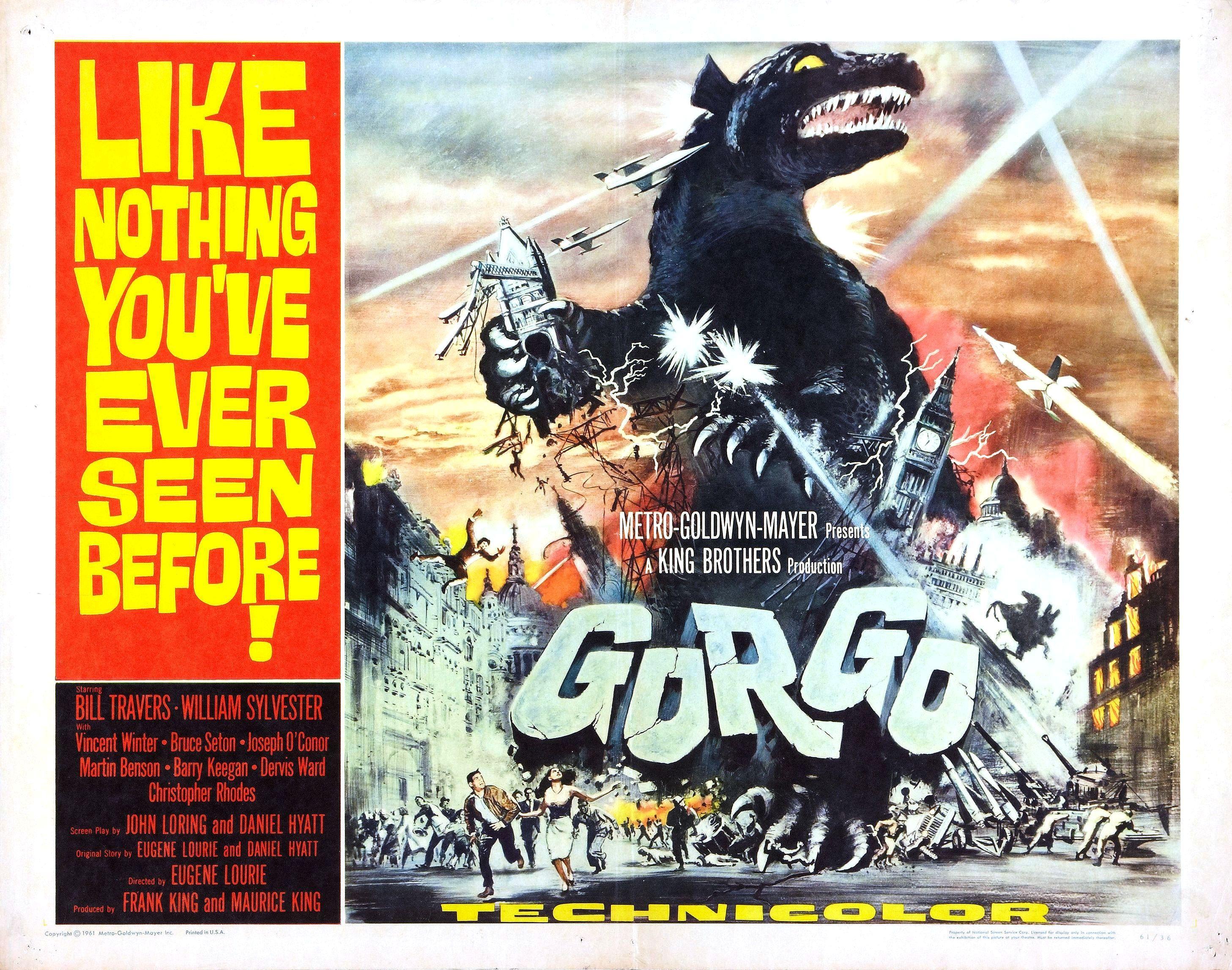 GORGO 1961 | Catherine Renée