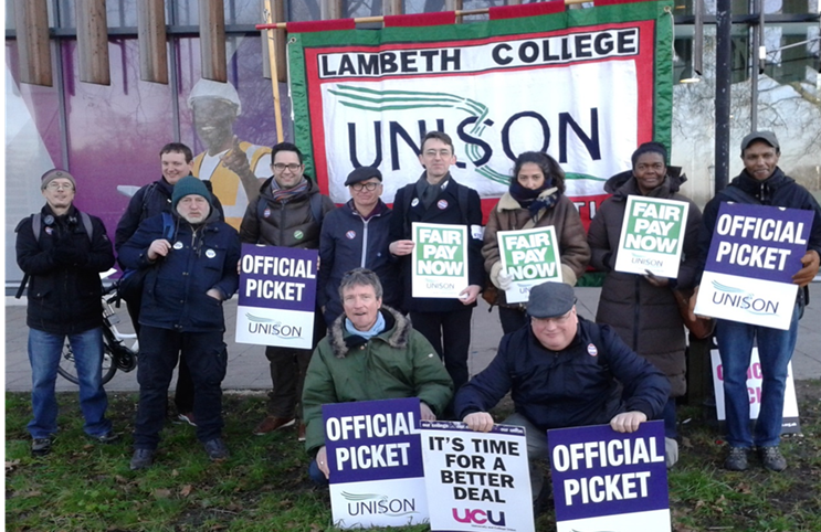 strike | Lambeth Unison