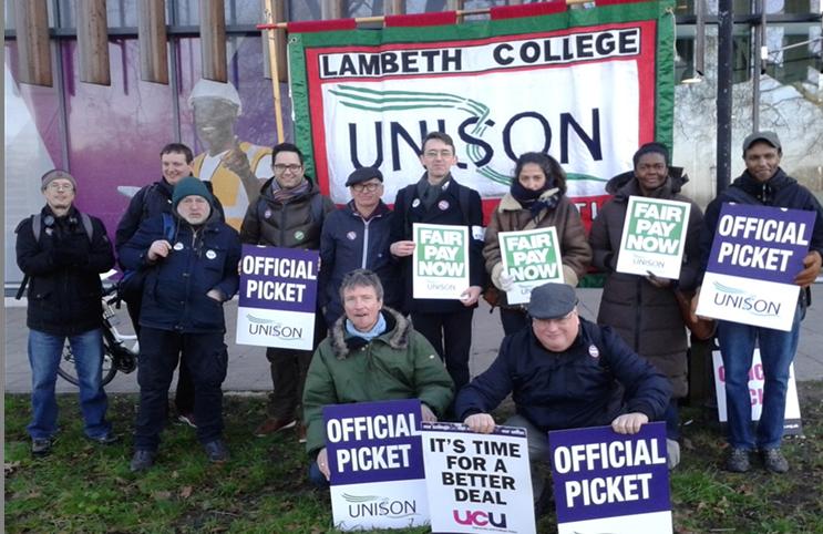 strike | Lambeth Unison