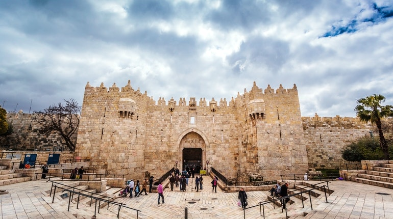 Damascus Gate in Jerusalem - Lonely Planet