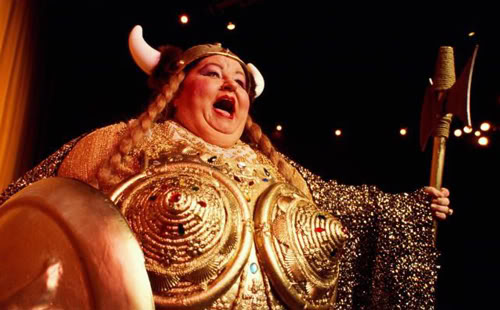 Brünnhilde: the horns, the spear, the pigtails – Ain't ...