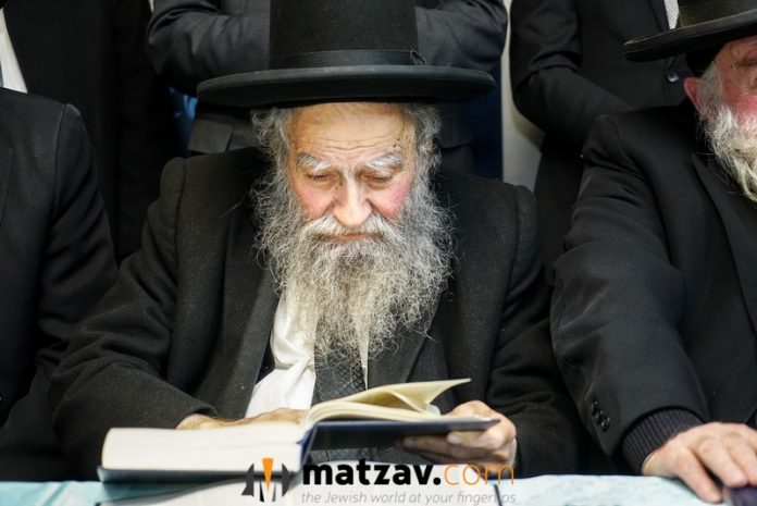 Rav Piltz At Degel HaTorah Campaign Party: Even Nazis Knew ...