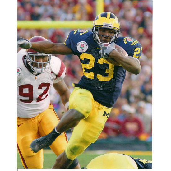 University of Michigan Football Chris Perry (v. USC) 8x10 ...