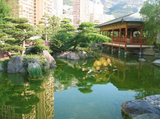 Giardini Giapponesi,Monte-Carlo, Principato di Monaco ...